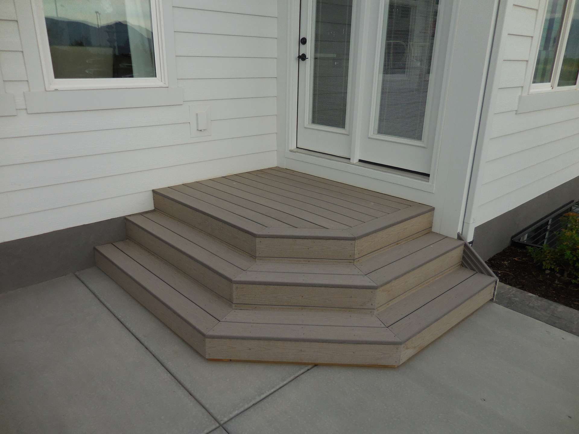Composite Stairs Spanish Fork Ut Composite Decking Utah
